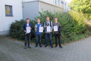 U16-Siegerehrung