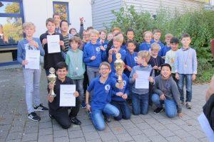 U12-und U14-Siegerehrung